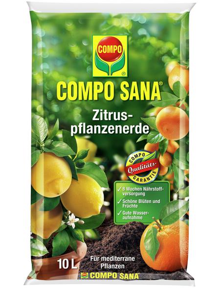COMPO Pflanzenerde, 10 l, geeignet für: Zitruspflanzen