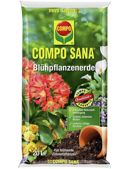COMPO Pflanzenerde, 20 l, geeignet für: Blühpflanzen