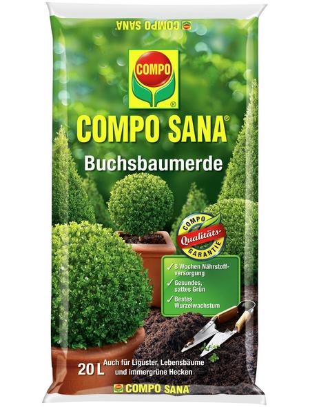 COMPO Pflanzenerde, 20 l, geeignet für: Buchsbaum