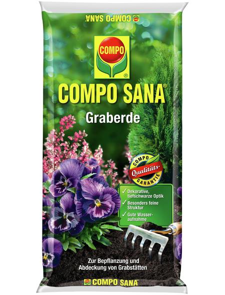 COMPO Pflanzenerde, 20 l, geeignet für: Gräber