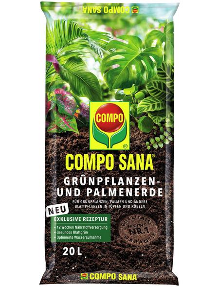 COMPO Pflanzenerde, 20 l, geeignet für: Grünpflanzen
