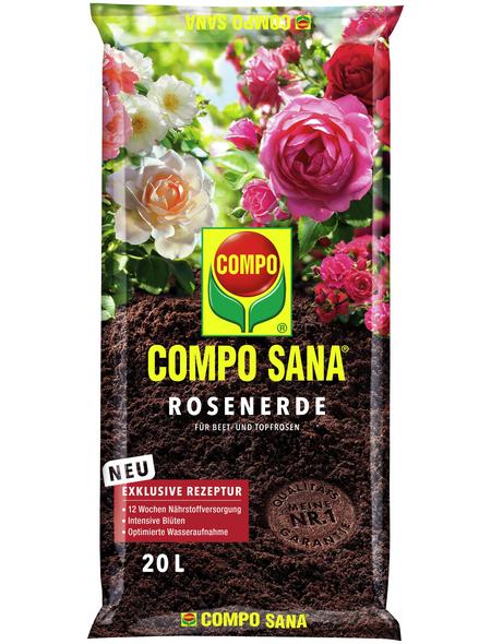 COMPO Pflanzenerde, 20 l, geeignet für: Rosen