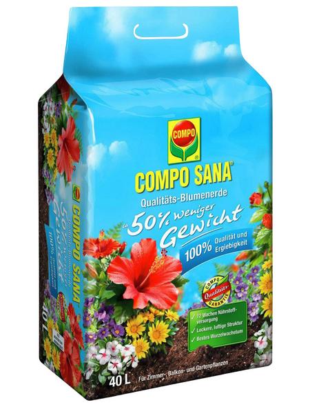 COMPO Pflanzenerde, 40 l, geeignet für: Blumen