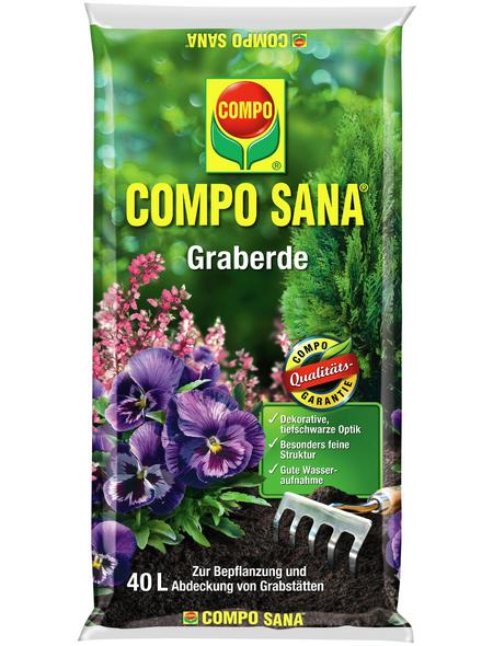 COMPO Pflanzenerde, 40 l, geeignet für: Gräber