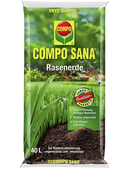 COMPO Pflanzenerde, 40 l, geeignet für: Rasen
