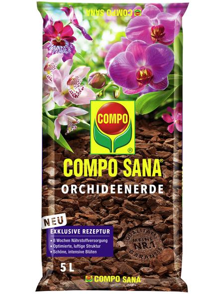 COMPO Pflanzenerde, 5 l, geeignet für: Orchideen