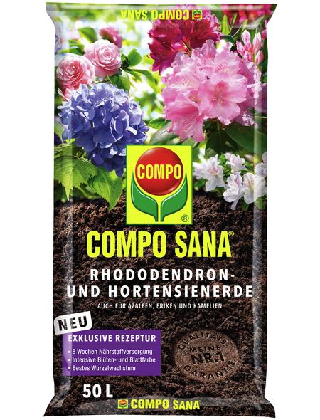 COMPO Pflanzenerde, 50 l, geeignet für: Rhododendron