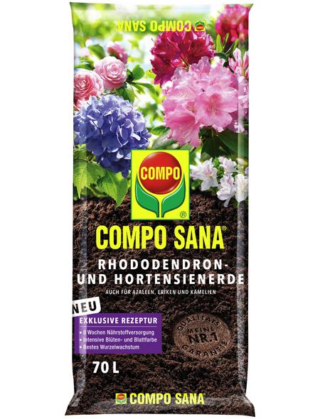 COMPO Pflanzenerde, 70 l, geeignet für: Rhododendron