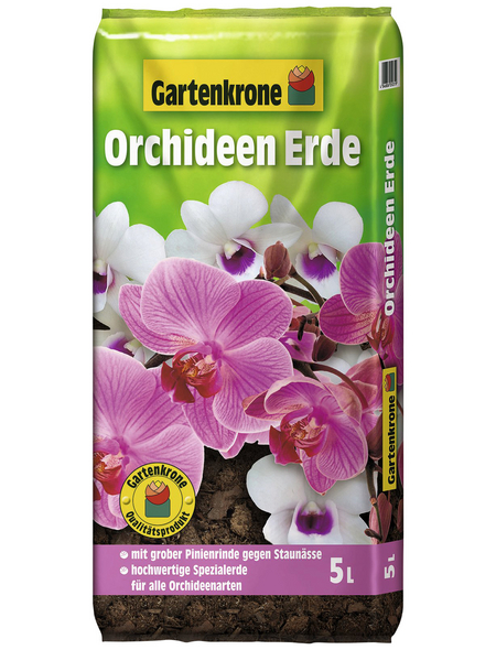 GARTENKRONE Pflanzenerde, für alle Orchideenarten