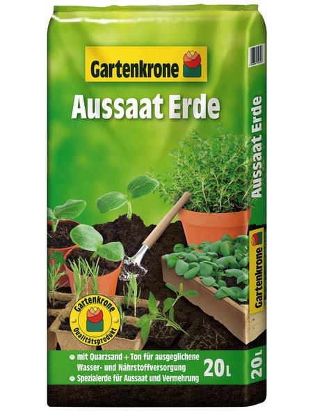 GARTENKRONE Pflanzenerde, für Aussaat- und Vermehrung