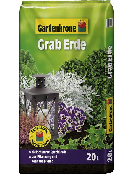 GARTENKRONE Pflanzenerde, für Bepflanzung und Abdeckung von Gräbern
