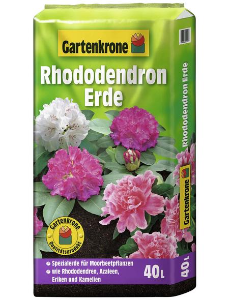 GARTENKRONE Pflanzenerde, für Rhododendren, Azaleen, Eriken und Kamelien