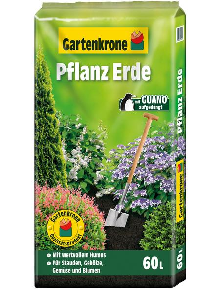 GARTENKRONE Pflanzenerde, für Stauden, Gehölze, Gemüse, Blumen