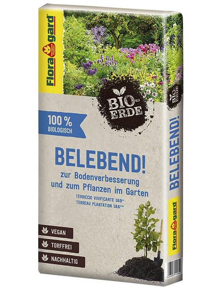 FLORAGARD Pflanzerde »Bio«, für Gehölze, Stauden, torffrei
