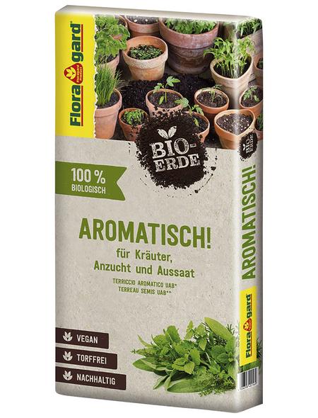 FLORAGARD Pflanzerde »Bio«, für Kräuter & Aussat, torffrei