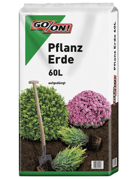 GO/ON! Pflanzerde, für Bäume, Sträucher oder Blumen