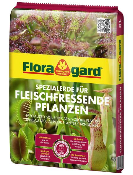 FLORAGARD Pflanzerde, für Carnivoren