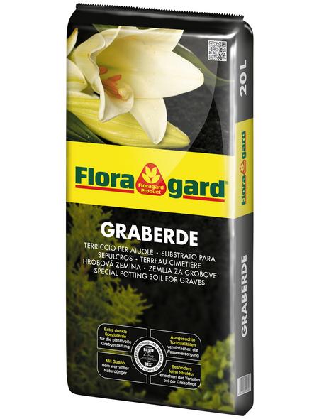 FLORAGARD Pflanzerde, für Grabgestaltung