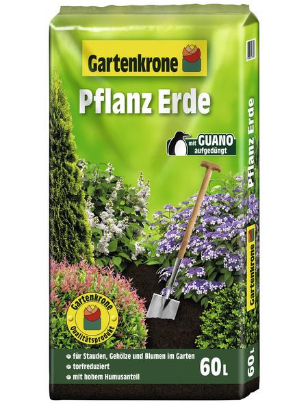 GARTENKRONE Pflanzerde, für Stauden, Gehölze, Gemüse, Blumen
