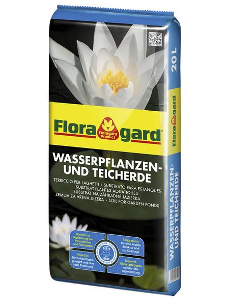 FLORAGARD Pflanzerde, für Teich- und Wasserpflanzen