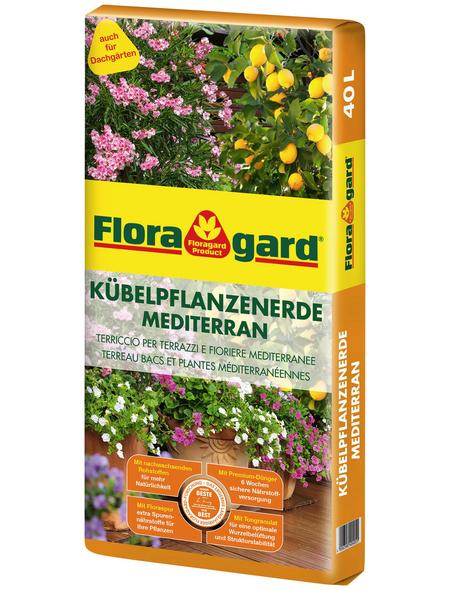 FLORAGARD Pflanzerde »Mediterran«, für Kübelpflanzen