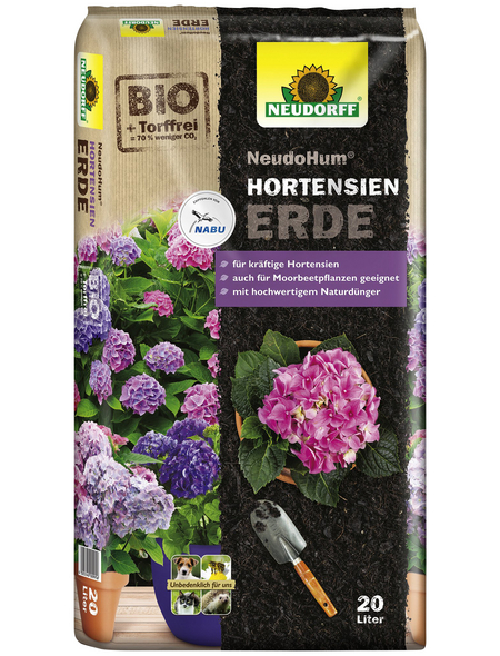 NEUDORFF Pflanzerde »NeudoHum«, für Hortensien, torffrei
