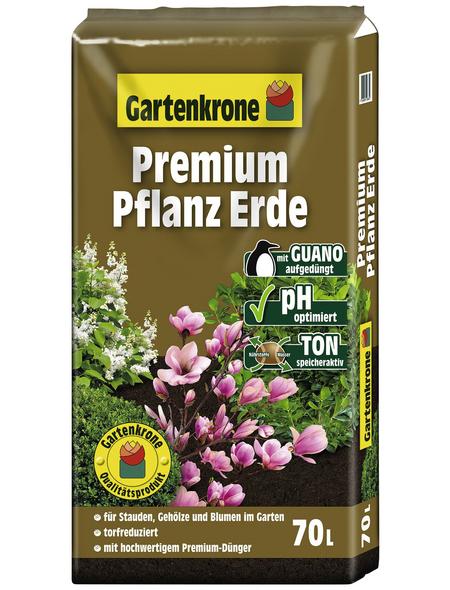 GARTENKRONE Pflanzerde »Premium«, für Outdoorpflanzen