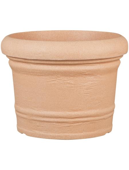 CASAYA Pflanzgefäß »ANCONA«, ØxH: 45 x 33,5 cm, terracotta