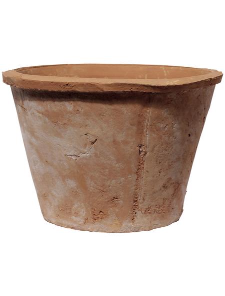 Kirschke Pflanzgefäß »Braga«, ØxH: 20 x 14 cm, terrakottafarben