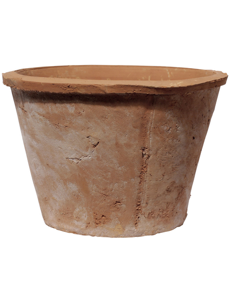 Kirschke Pflanzgefäß »Braga«, ØxH: 25 x 16 cm, terrakottafarben