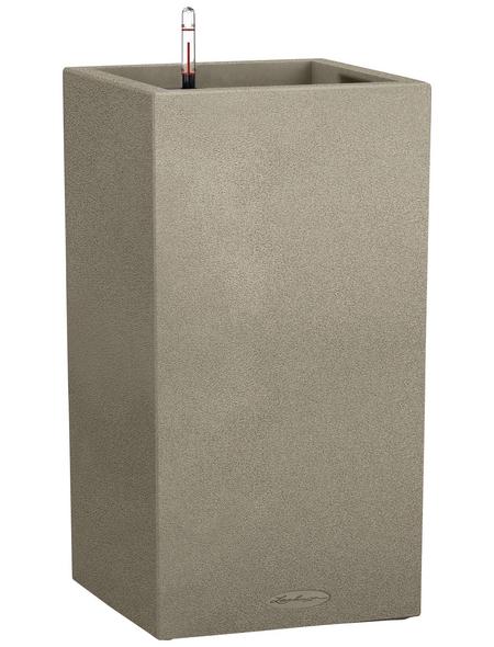 LECHUZA Pflanzgefäß »CANTO«, BxHxT: 30 x 56,8 x 32 cm, beige
