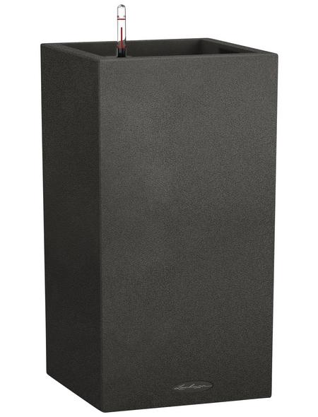 LECHUZA Pflanzgefäß »CANTO«, BxHxT: 30 x 56,8 x 32 cm, graphite black