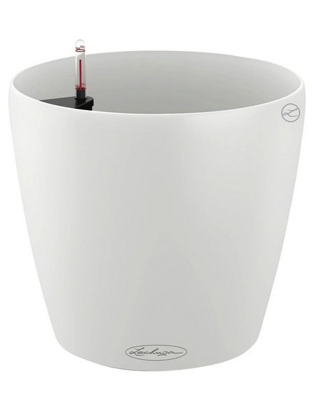 LECHUZA Pflanzgefäß »CLASSICO«, ØxH: 22 x 20,5 cm, weiß