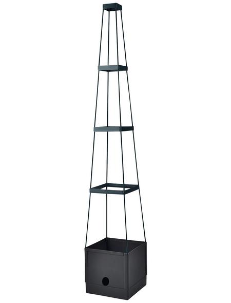 FLORAWORLD Pflanzgefäß »Comfort«, BxHxL: 25 x 150 x 25 cm, Polyethylen (PE)