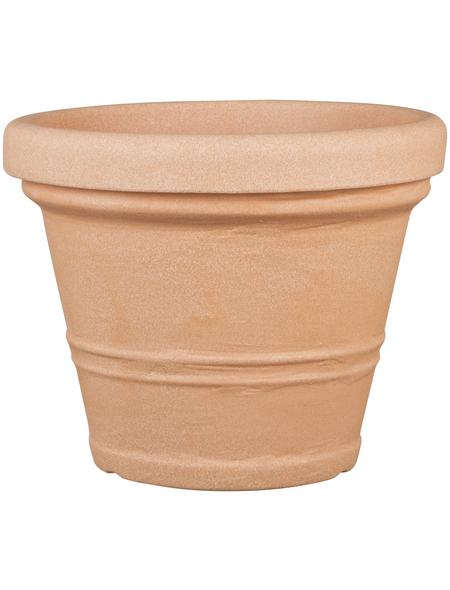 CASAYA Pflanzgefäß »CREMONA«, ØxH: 55 x 43,5 cm, terracotta