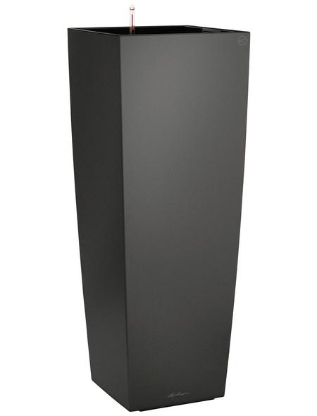 LECHUZA Pflanzgefäß »CUBICO«, BxHxT: 40 x 105 x 41 cm, anthrazit metallic