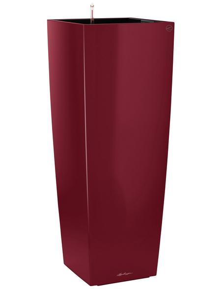 LECHUZA Pflanzgefäß »CUBICO«, BxHxT: 40 x 105 x 41 cm, rot