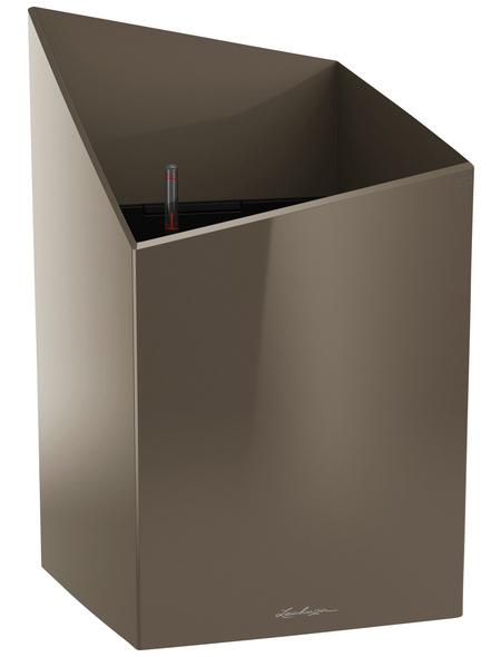 LECHUZA Pflanzgefäß »CURSIVO«, BxHxT: 30,5 x 51,2 x 31 cm, taupe