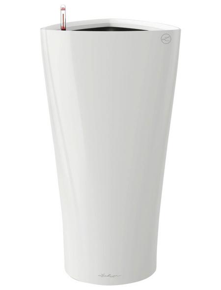 LECHUZA Pflanzgefäß »DELTA«, BxHxT: 30 x 56 x 32 cm, weiß hochglanz