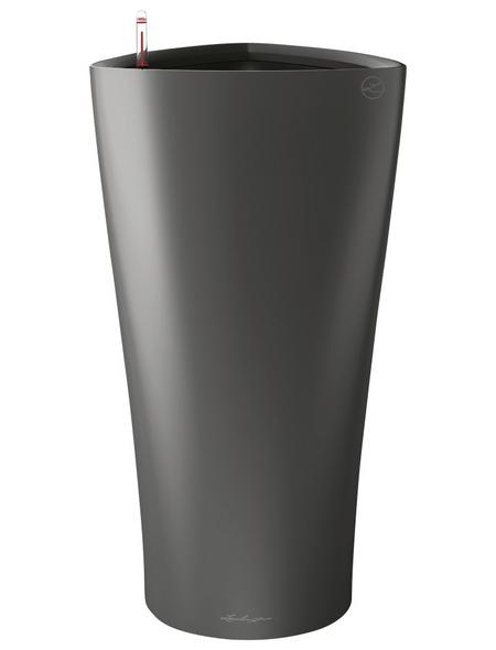 LECHUZA Pflanzgefäß »DELTA«, BxHxT: 40 x 75 x 41 cm, anthrazit metallic