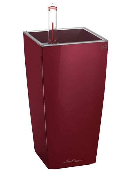 LECHUZA Pflanzgefäß »DELTINI«, BxHxT: 10 x 18 x 21 cm, rot