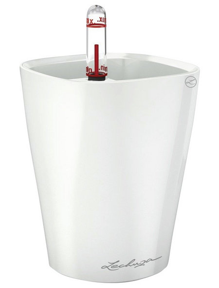 LECHUZA Pflanzgefäß »DELTINI«, ØxH: 10 x 13 cm, weiß