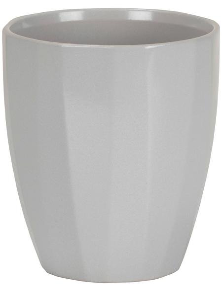 SCHEURICH Pflanzgefäß »ELEGANCE«, Breite: 12,5 cm, grau, Keramik