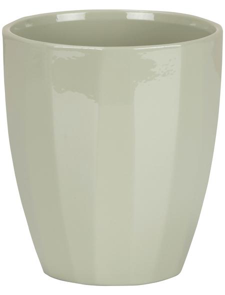 SCHEURICH Pflanzgefäß »ELEGANCE«, Breite: 12,5 cm, grün, Keramik
