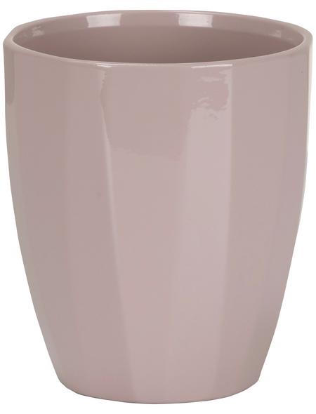 SCHEURICH Pflanzgefäß »ELEGANCE«, Breite: 12,5 cm, rosé, Keramik