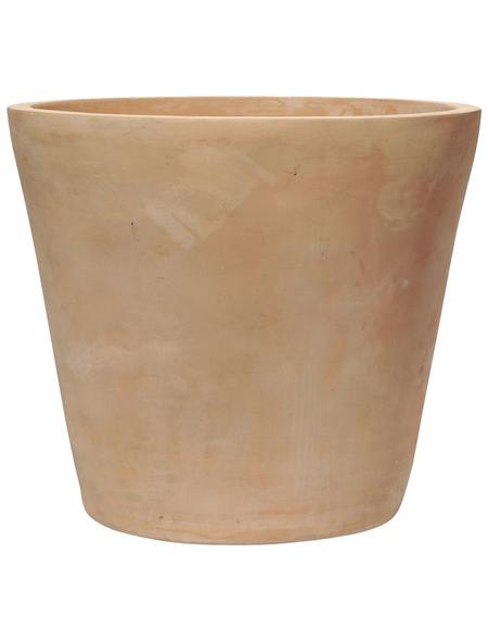 Kirschke Pflanzgefäß »ENZO«, ØxH: 38 x 34 cm, terrakottafarben