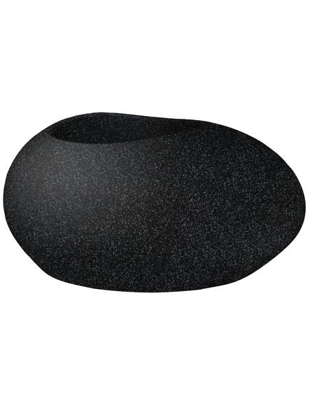 SCHEURICH Pflanzgefäß »FLOW«, ØxH: 73 x 35,2 cm, schwarz