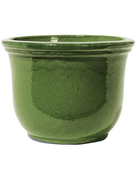 Kirschke Pflanzgefäß »Lage« mit 3,5 l Fassungsvermögen, rund, grün