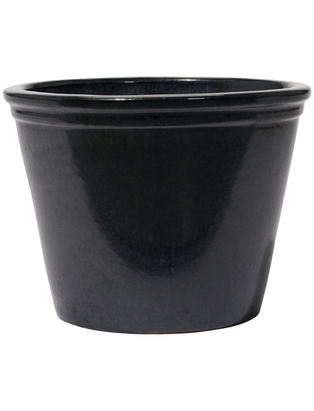 Kirschke Pflanzgefäß »Lemgo«, ØxH: 20 x 17 cm, graphitfarben
