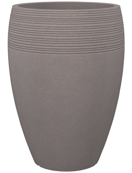 SCHEURICH Pflanzgefäß »LINEO HIGH«, ØxH: 47 x 64,8 cm, taupe